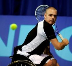 Roelstoeltennisser Maikel Scheffers verliest finale Florida Open