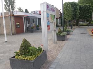 Een fraai en veilig dorpsplein