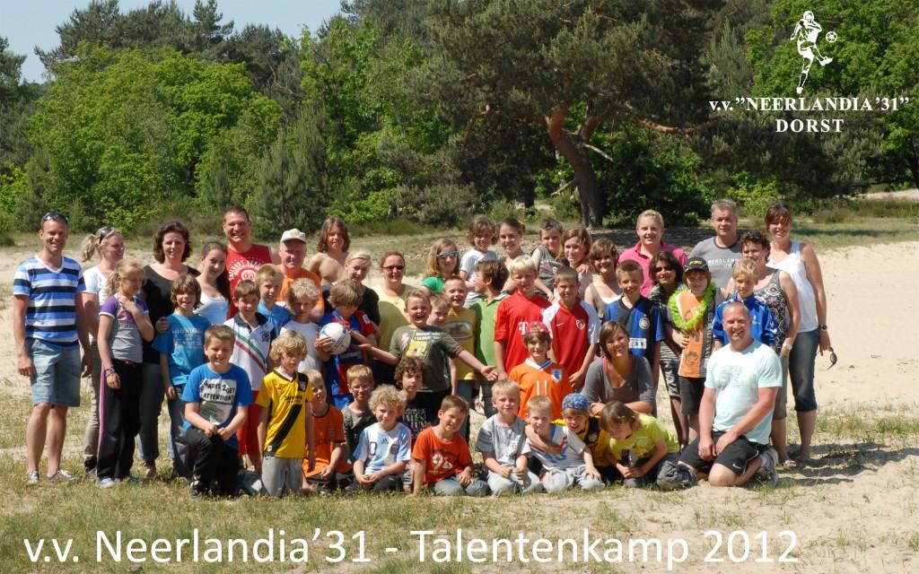 Talentenkamp Neerlandia '31 Dorst 2012