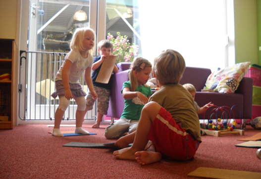 Open dag bij de kinderopvang te Dorst